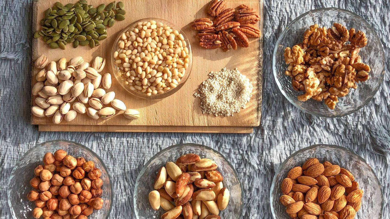 Cantidad diaria de frutos secos recomendada. (Pavel Kalenik para Unsplash)