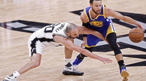 Los Warriors aplastan a los Spurs de Pau Gasol: ¿el último partido de Ginóbili?
