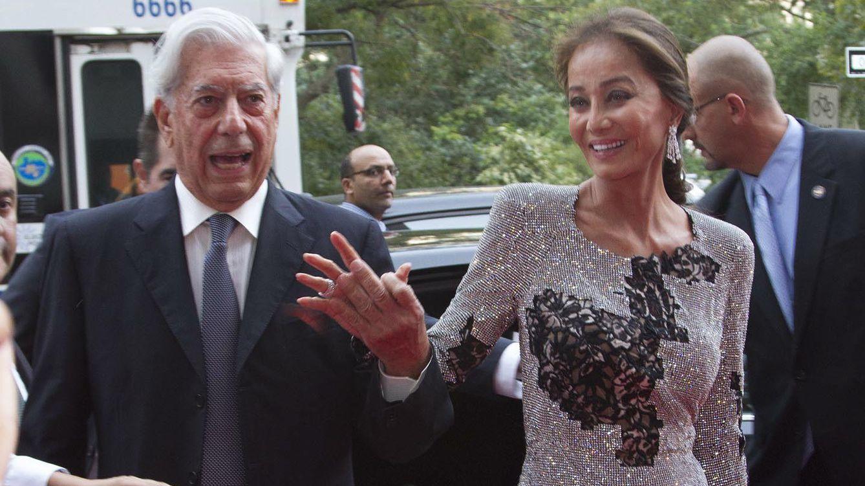 Foto: Isabel Preysler y Mario Vargas Llosa en Nueva York (Efe)
