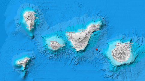 Registrado un terremoto de magnitud 3.2 en varias localidades de Santa Cruz de Tenerife