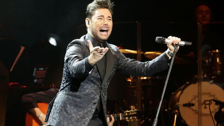 Foto: Miguel Poved durante un concierto en Madrid (Gtres)