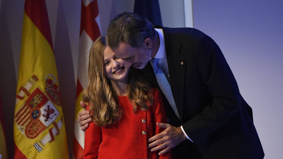Foto a foto: el debut de Leonor en los Premios Princesa de Girona