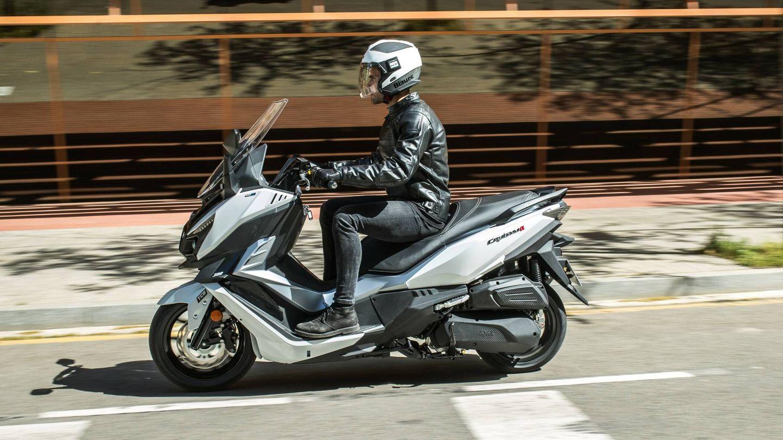 Además de recibir nueva denominación, el scooter de SYM estrena un motor Euro 5 con un rendimiento muy superior.