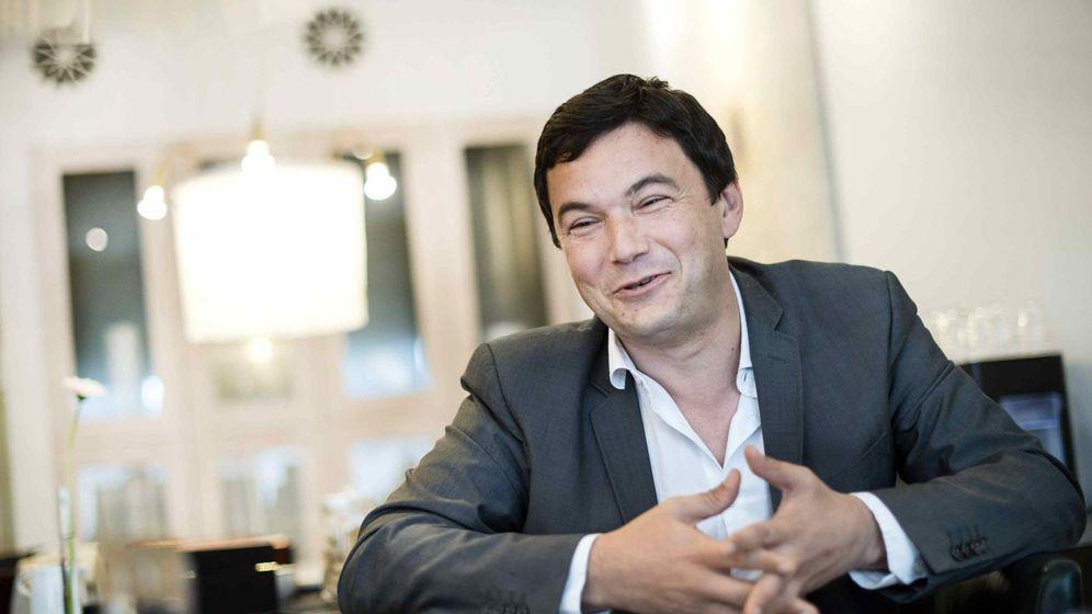 Foto: Thomas Piketty durante una reunión con los medios de comunicación en Suecia. (Reuters)