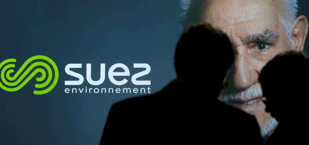 Foto: Logo de la compañia francesa Suez. (Reuters)
