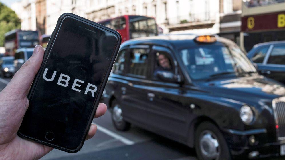 Foto: Aplicación de Uber. (EFE)