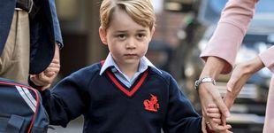 Post de Un nervioso príncipe George empieza el cole de mayores sin Kate