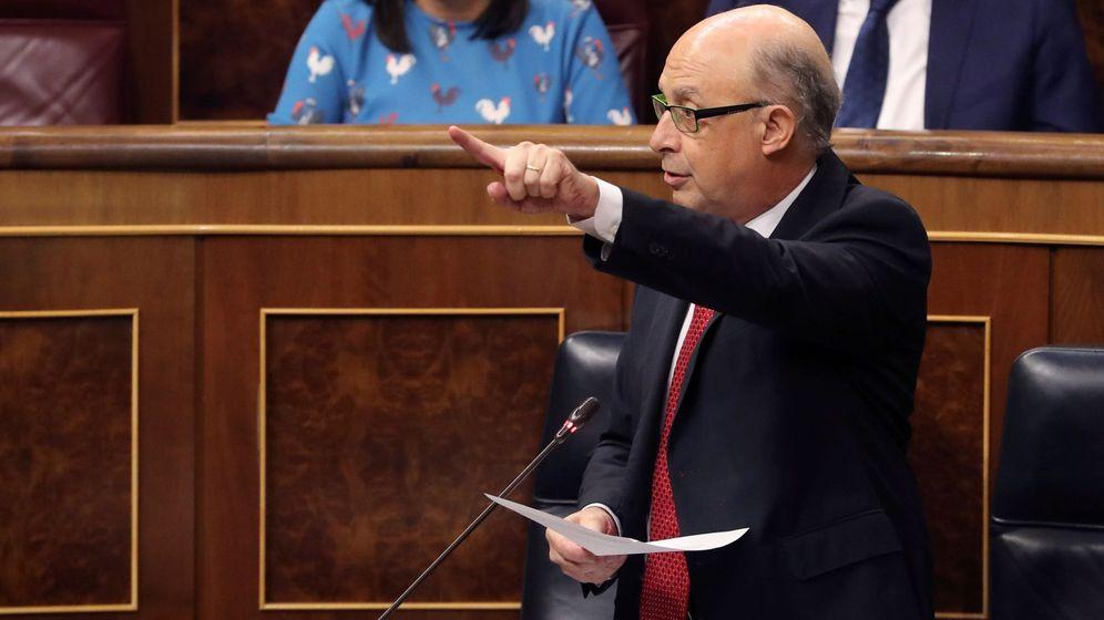 Foto: El ministro de Hacienda, Cristóbal Montoro, es el encargado de presentar las cuentas públicas del Estado. (EFE)
