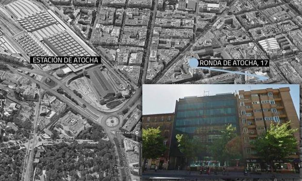 Foto: Ronda de Atocha,17. Madrid.