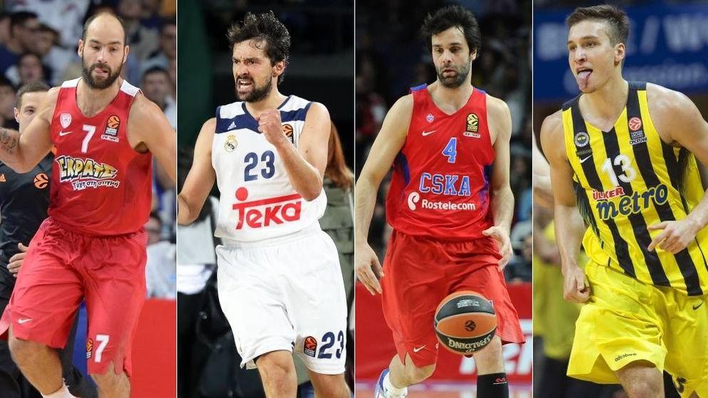 Horarios y televisión de la Final Four de la Euroliga de baloncesto