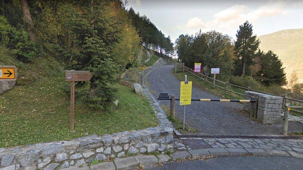Foto: El Camí de les Pardines debutará en la Vuelta a España en 2019. (Google Maps)