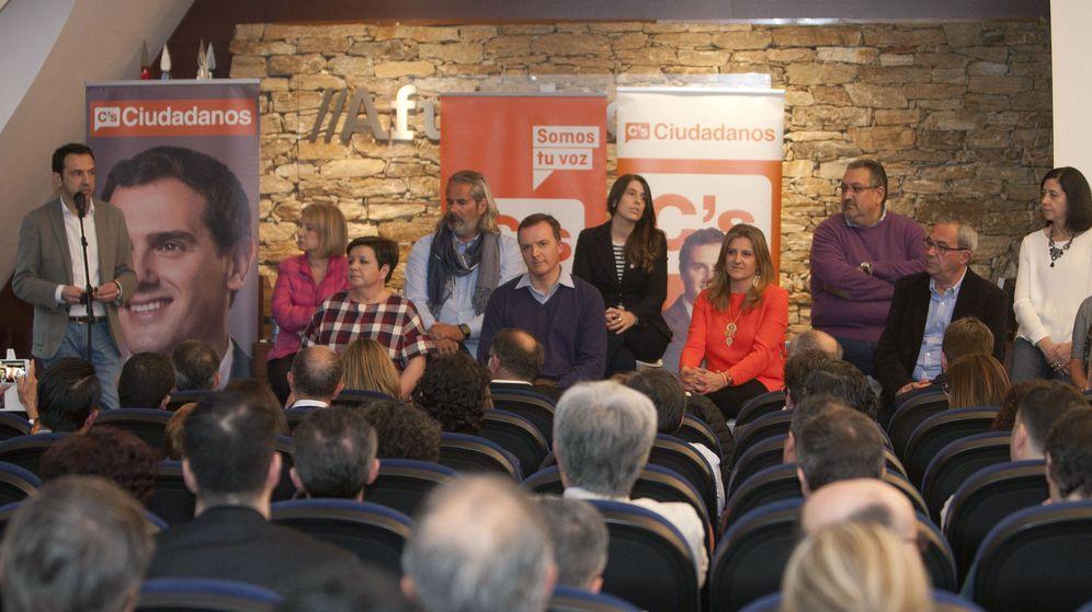 Foto: Presentación de la estructura territorial de Ciudadanos en Galicia. (EFE)