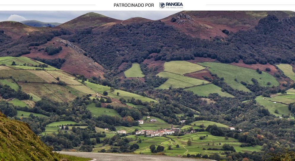 Foto: Panorámica del valle del Baztán (Shutterstock)
