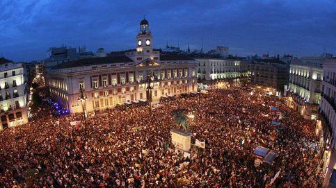 Las imágenes del 15-M: cinco años del movimiento que nació en la Puerta del Sol
