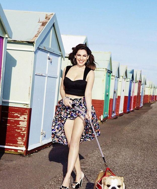 Foto: La modelo, actriz y diseñadora de trajes de baño Kelly Brook