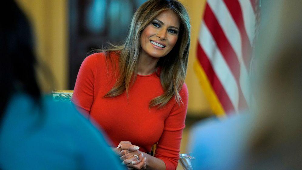Foto: La primera dama, Melania Trump. (Reuters)