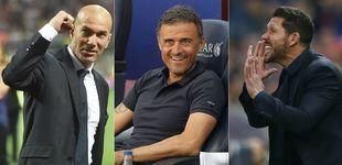 Post de Un Simeone herido y un Zidane más maduro, a por el trono de Luis Enrique