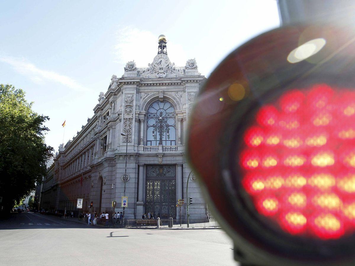 Foto: Fachada de la sede del Banco de España en la plaza de Cibeles de Madrid. (EFE)
