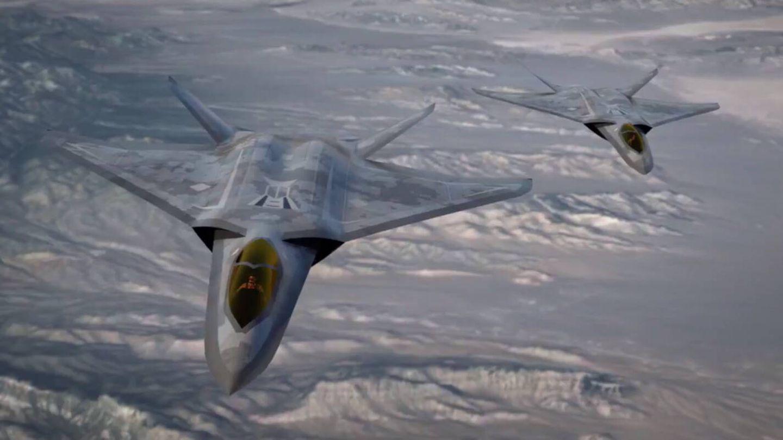Imagen artística del NGAD. (Lockheed)