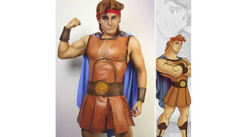 Por fin un cosplayer de Disney masculino. ¿Quién es Jonathan Stryker?