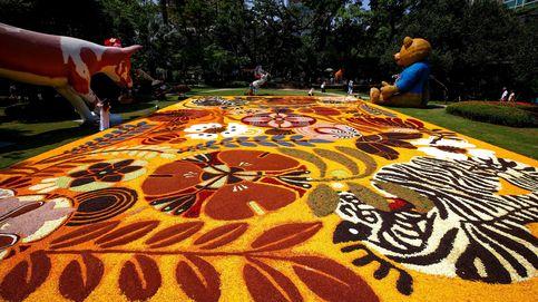 Feria de flora y jardinería en Tailandia
