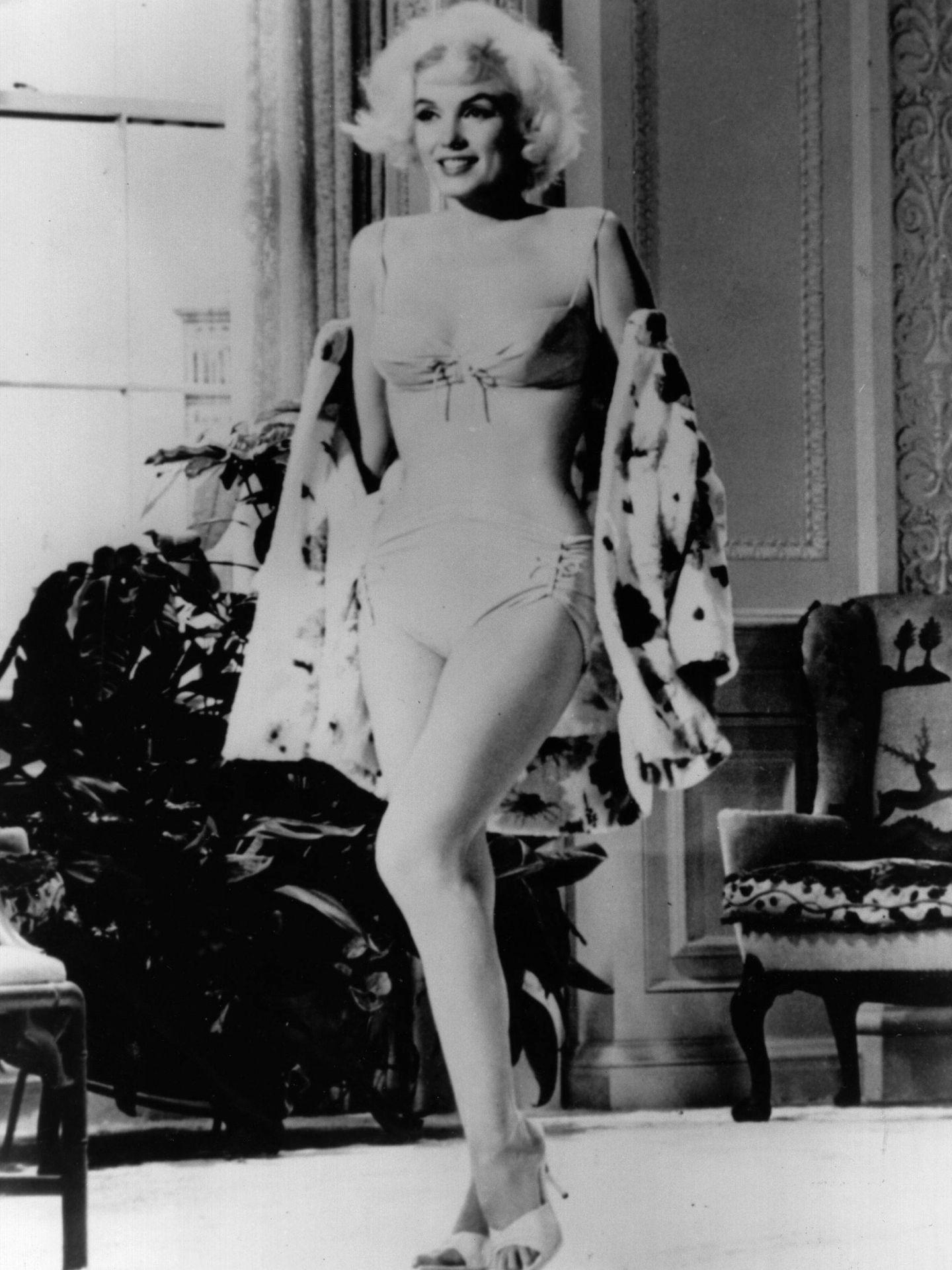 Monroe en su última película: 'Something's Gotta Give'. (Getty)