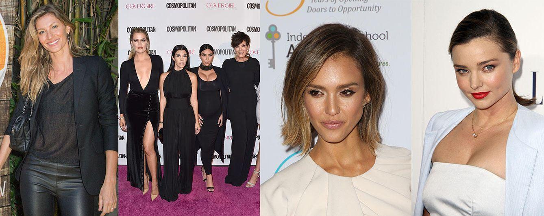 Foto: Jessica, Gisele, Miranda y las Kardashian-Jenner hacen el agosto con la belleza