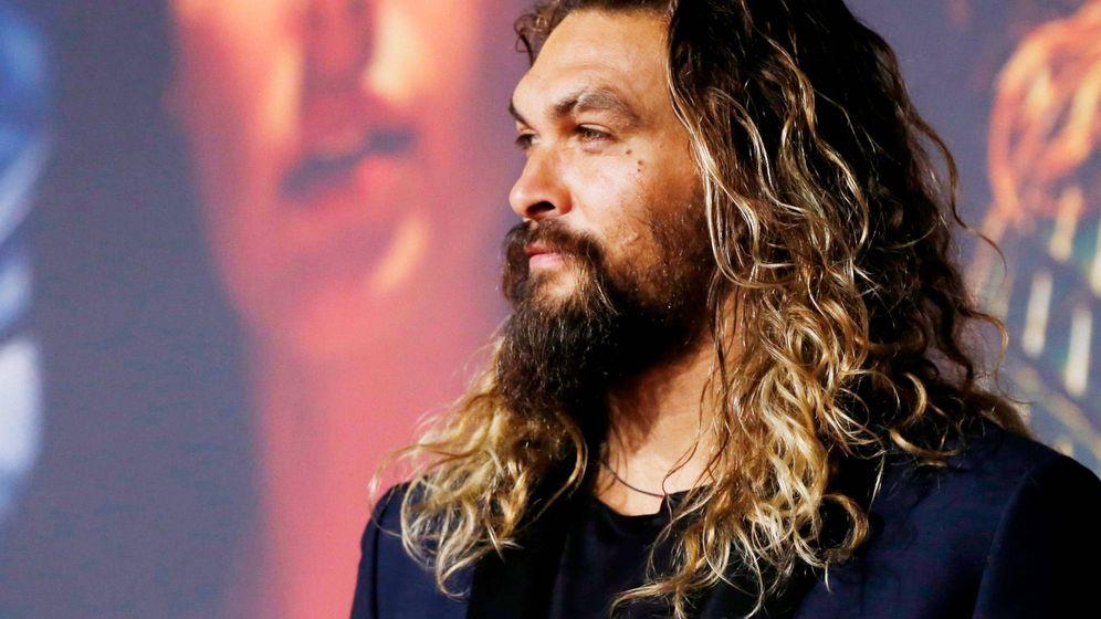 Foto: El actor durante la première de 'Aquaman'. (Reuters)