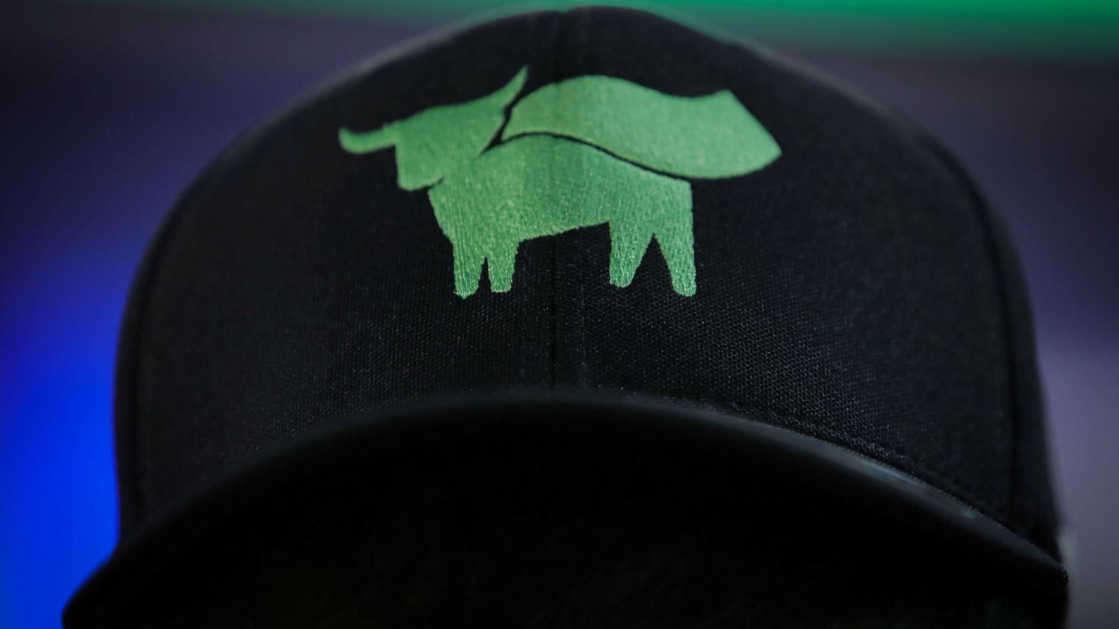 Foto: El logo de Beyond Meat. (Reuters)