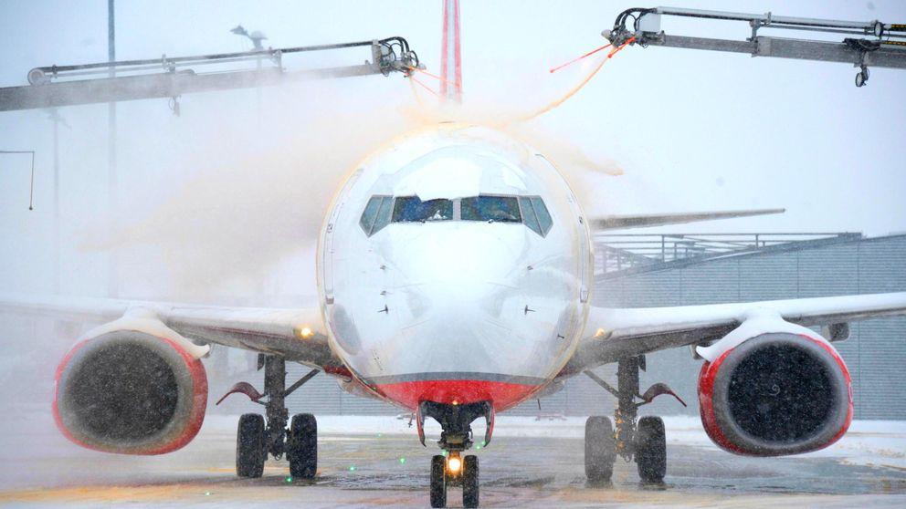 El 'efecto babosa', un genial hallazgo para acabar con el hielo en los aviones