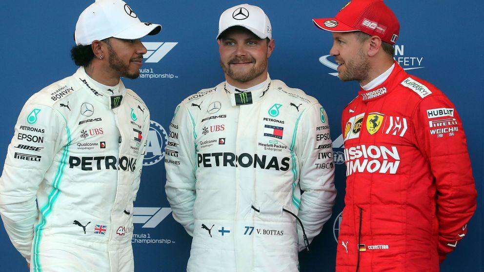 Fórmula 1: Bottas logra la pole en Bakú, Leclerc la lía y Carlos Sainz saldrá 10º