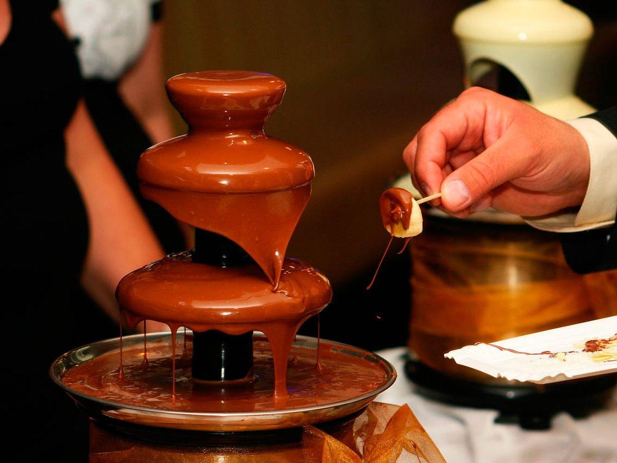 Foto: Las fuentes de chocolate son un éxito entre mayores y pequeños (Foto: Pixabay)