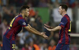 Luis Enrique y Leo Messi sellan un gran 'cambio de no agresión'