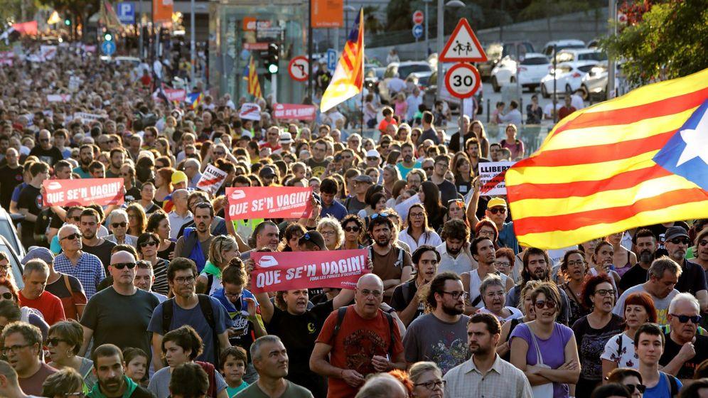 Foto: Manifestación en apoyo a los CDR arrestados.