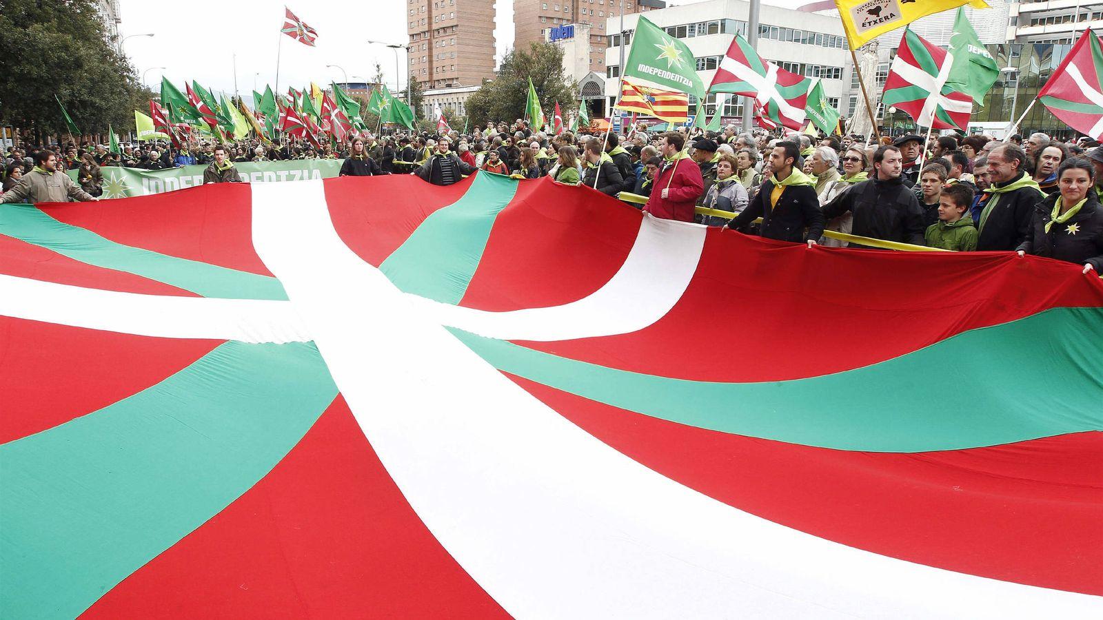 Foto: Celebración del Aberri Eguna en Navarra en 2012. (EFE)