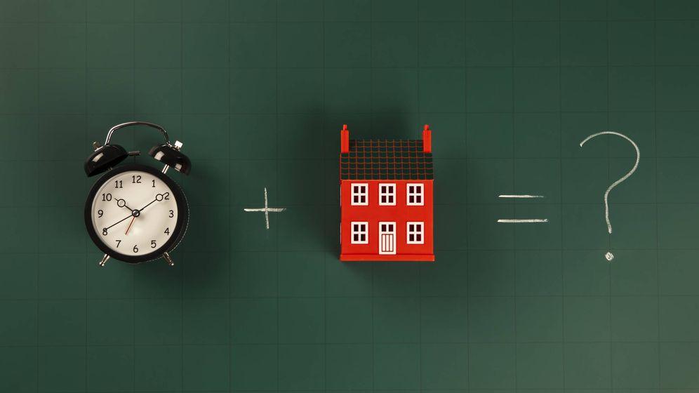 Foto: Apunte esta fecha: en julio de 2017 nos subirá (pero solo un poco) la cuota de la hipoteca. Foto: Corbis.