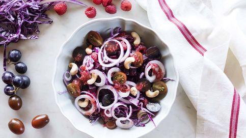 Ensalada de lombarda y remolacha, una explosión de sabores y colores