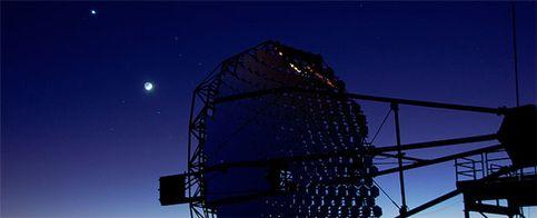 Foto: España pugna con EEUU por el telescopio de rayos gamma más grande del mundo