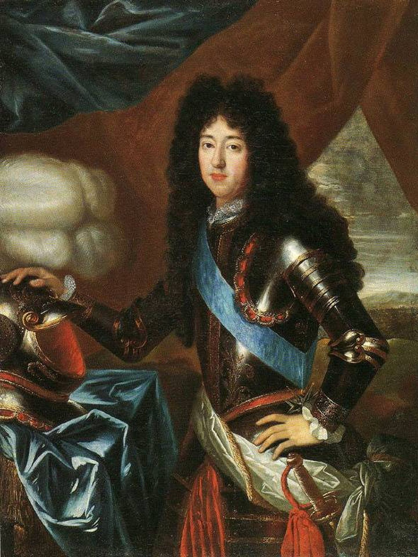 Felipe I de Orleans por Henri Gascard. (Musée des Beaux-Arts d'Orléans)
