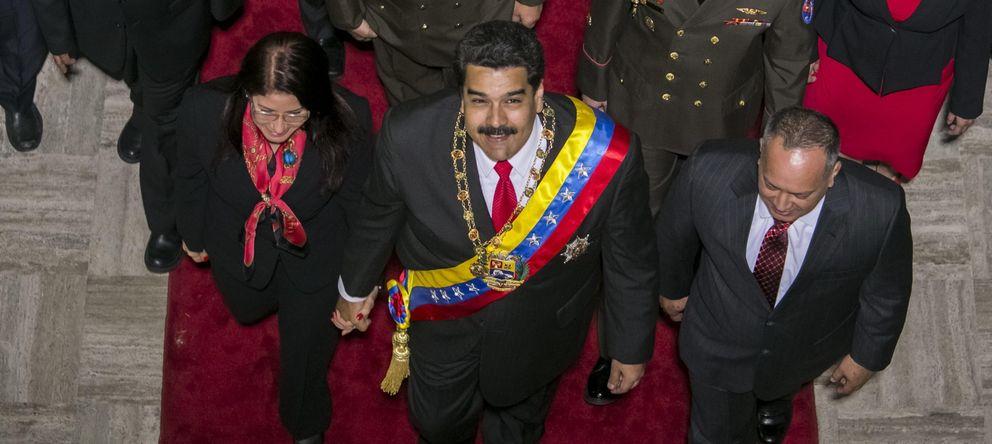 Foto: Maduro pasa página de un 2014 en recesión y promete afianzar modelo económico