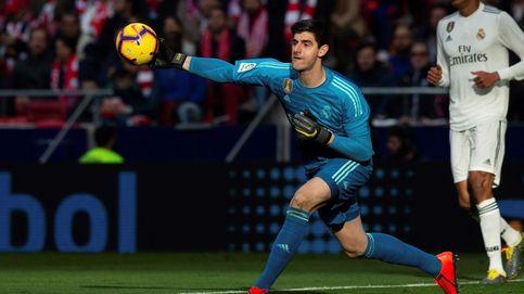 El ataque a Courtois para llamarle rata y cómo le defienden en el Real Madrid