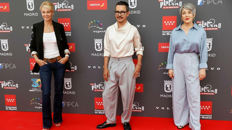 La actriz española Belén Rueda, el director de cine mexicano Manolo Caro y la actriz chilena Paulina García (EFE)