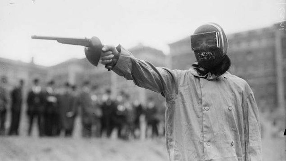 Duelo a pistola, un deporte olímpico de lo más bizarro