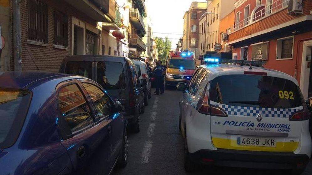Foto: Dos detenidos por una pelea en Usera. (Policía Municipal de Madrid)