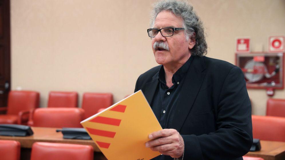 Foto: El diputado de Esquerra Republicana de Catalunya Joan Tardà. (EFE)