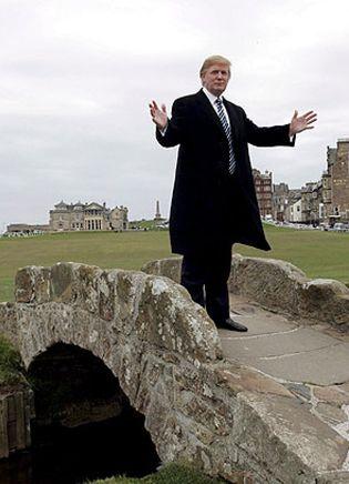 Foto: Donald Trump podrá construir sus campos de golf en Escocia