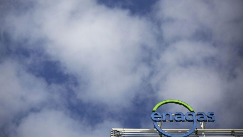 Foto: Logo de la sede de Enagás en Madrid. (Reuters)