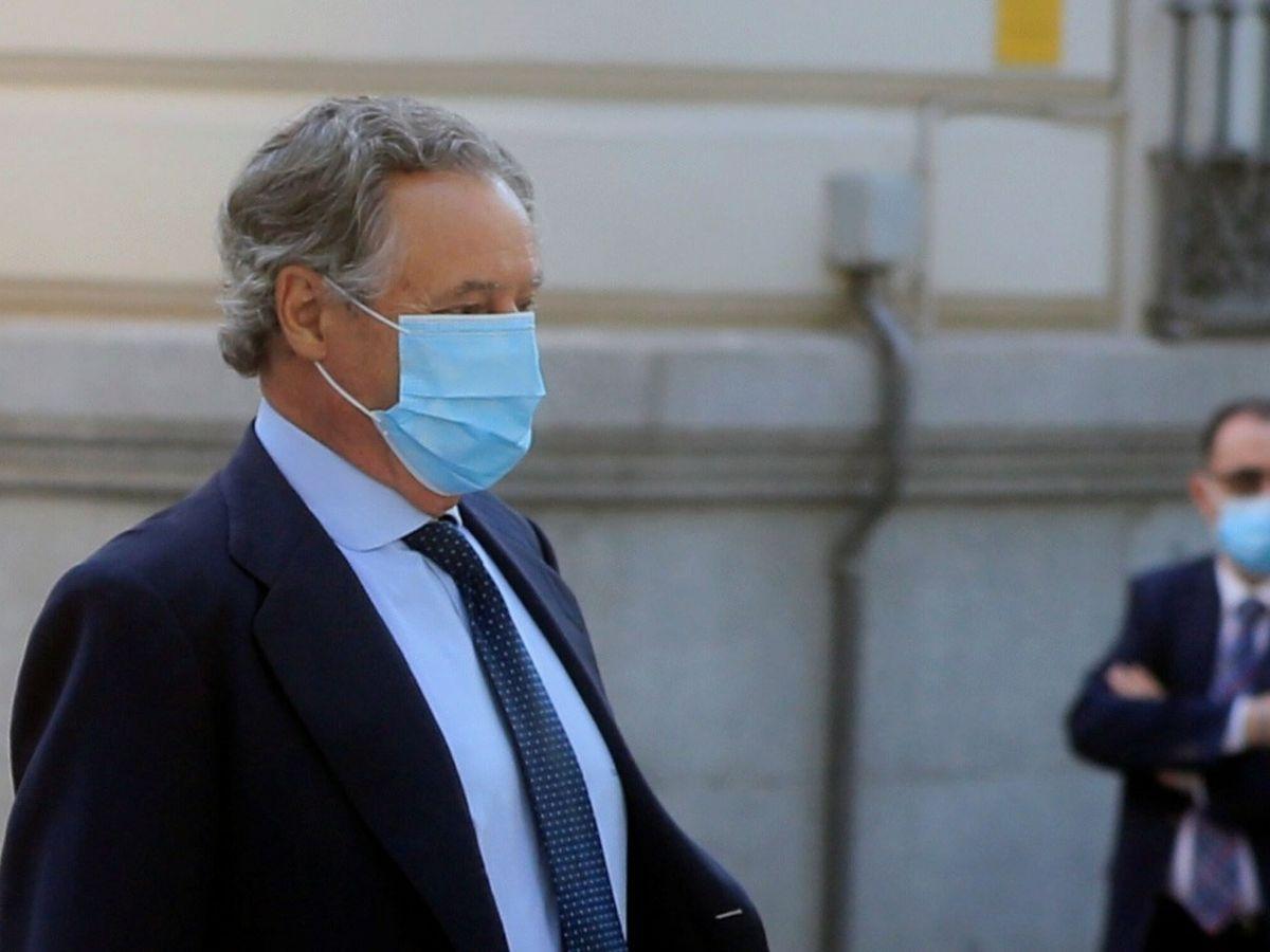 Foto: El marido de Cospedal, Ignacio López del Hierro, a su llegada a la Audiencia Nacional. (EFE)