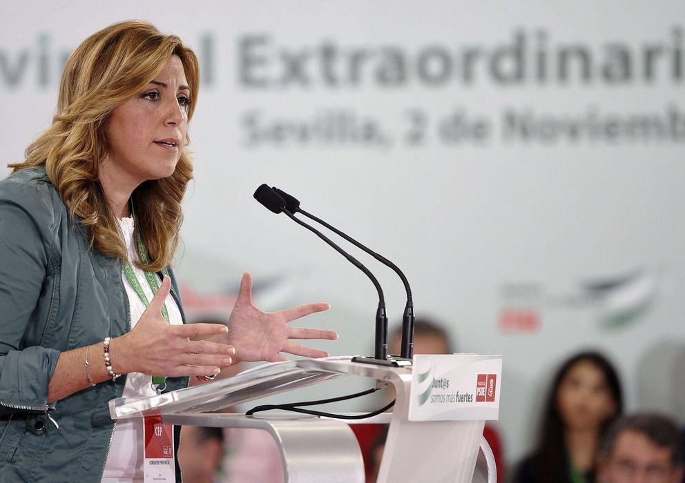 Foto: La presidenta de la Junta de Andalucía y secretaria general del PSOE de Sevilla, Susana Díaz. (EFE)