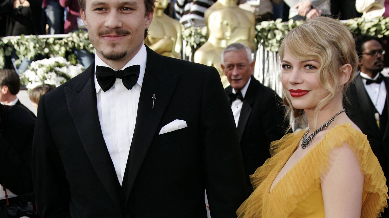 Heath Ledger y Michelle Williams. (Gtres)